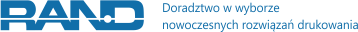 RAND – Kserokopiarki, Plotery, Drukarki – Wrocław, Poznań, Katowice, Szczecin Logo