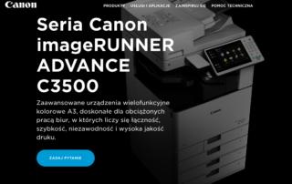 seria Canon imageRUNNER ADVANCE C3500