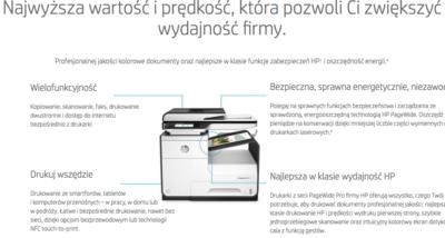 HP PageWide najem dzierżawa