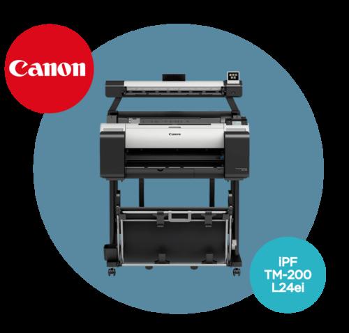 Ploter CANON iPF TM-200 L24ei