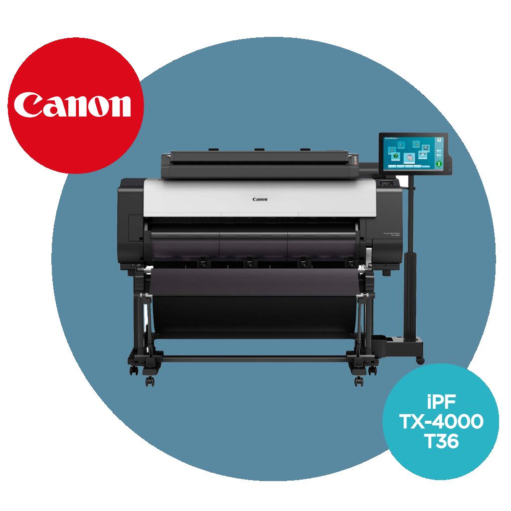 Ploter CANON iPF TX-4000 T36