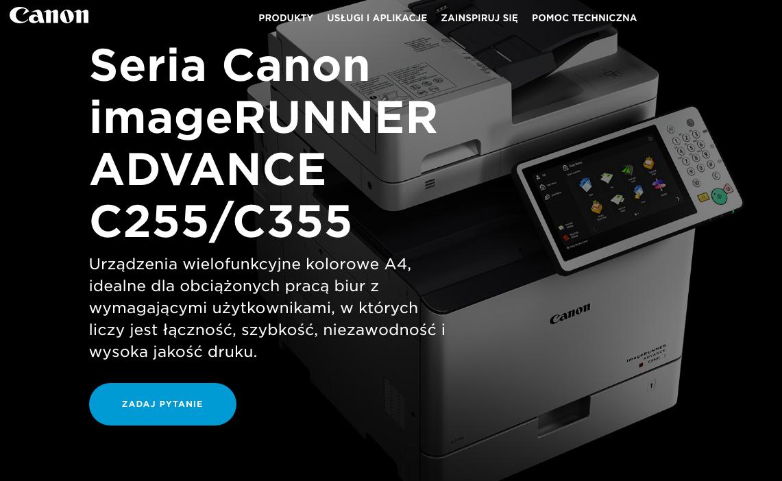 Canon imageRUNNER ADVANCE C255 C355